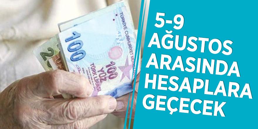 Emeklilerin Kurban Bayramı ikramiyesi 5-9 Ağustos arasında hesaplara geçecek