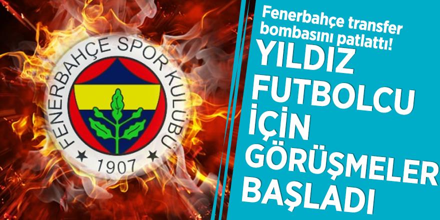 Fenerbahçe transfer bombasını patlattı! YIldız futbolcu için görüşmeler başladı