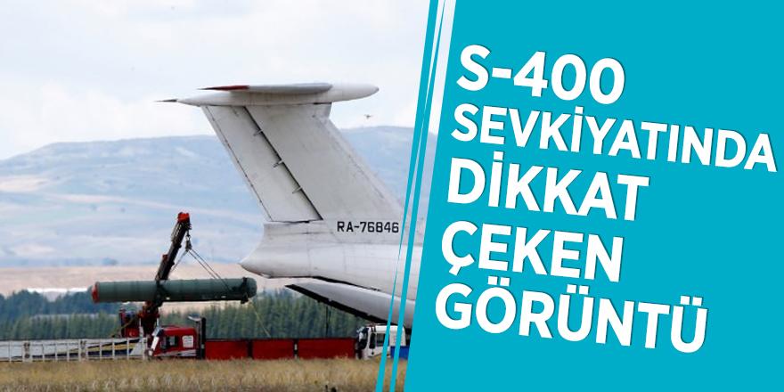S-400 sevkiyatında dikkat çeken görüntü