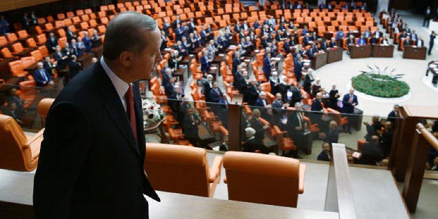 Başkan Erdoğan Gazi Meclis'ten askeri törenle uğurlandı