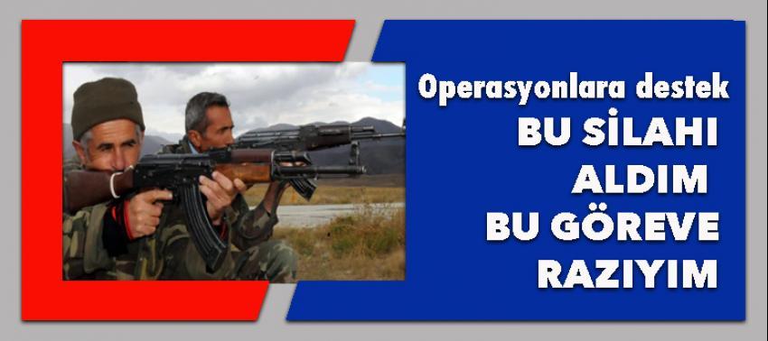 Operasyonlara en büyük destek!