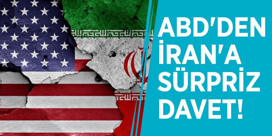 ABD'den İran'a sürpriz davet!