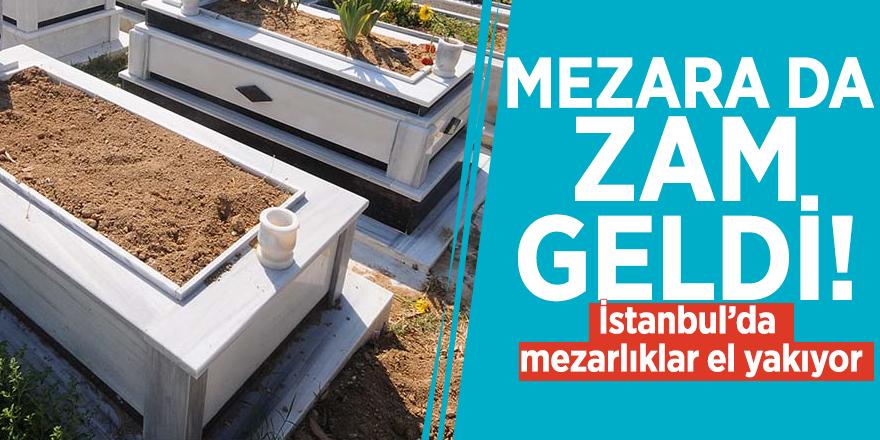 Mezara da zam geldi! İstanbul'da mezarlıklar el yakıyor