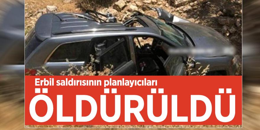 Erbil saldırısının planlayıcıları öldürüldü