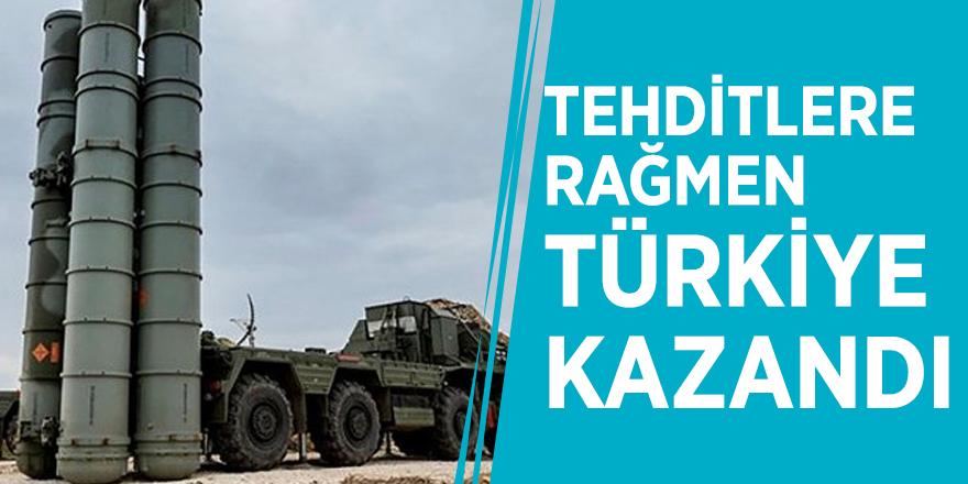 Tehditlere rağmen Türkiye kazandı