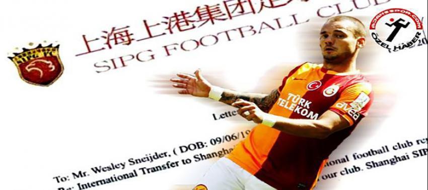 İşte Sneijder için yapılan teklifin belgesi