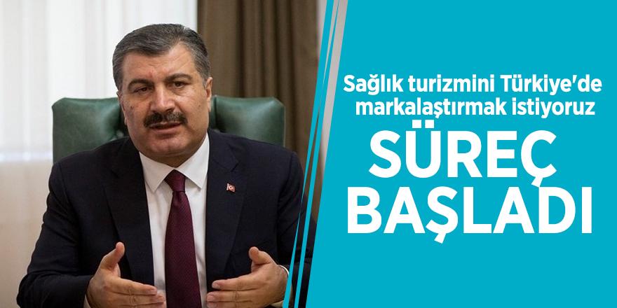 """Sağlık Bakanı Koca: """"Süreç başladı"""""""