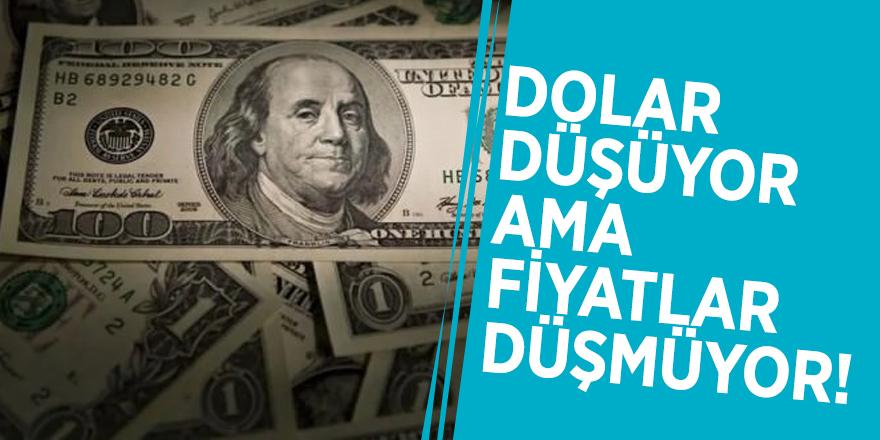 Dolar düşüyor ama fiyatlar düşmüyor!