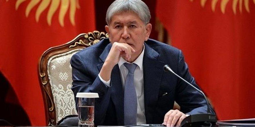 Gözaltına alınmıştı! Atambayev'in mal varlığı donduruldu