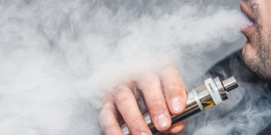 ABD'de elektronik sigara alarmı