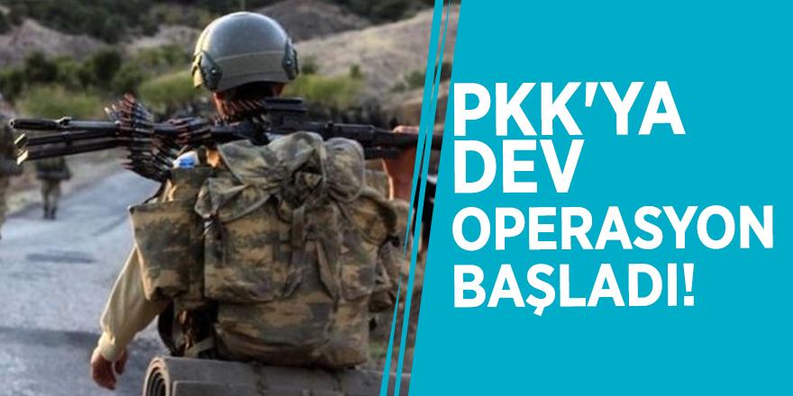 PKK'ya dev operasyon başladı!
