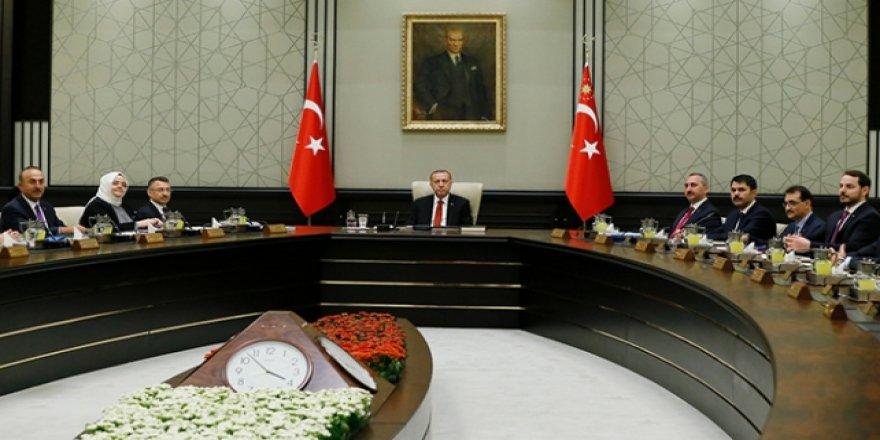 Cumhurbaşkanlığı Kabinesi Külliye'de toplandı