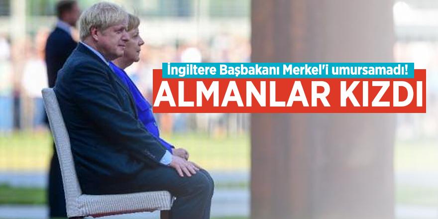 İngiltere Başbakanı Merkel'i umursamadı! Almanlar kızdı