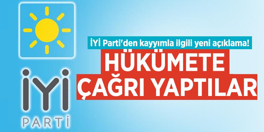 İYİ Parti'den kayyımla ilgili yeni açıklama! Hükümete çağrı yaptılar