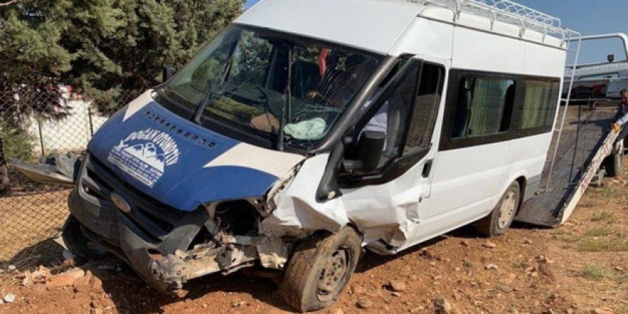 Adıyaman'da feci kaza! 12 yaralı