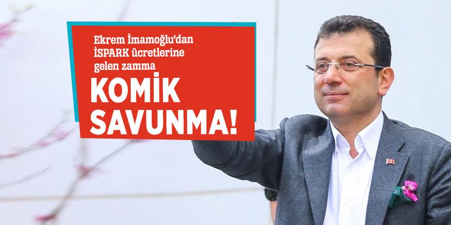 Ekrem İmamoğlu'dan İSPARK ücretlerine gelen zamma komik savunma!