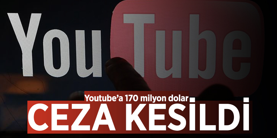 Youtube'a 170 milyon dolar ceza kesildi