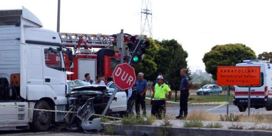 Hatay İl Emniyet Müdürü trafik kazası geçirdi!