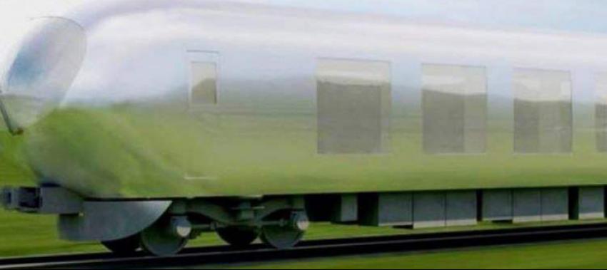 Teknolojik fantezi: Şimdi de görünmez tren yapıyorlar!