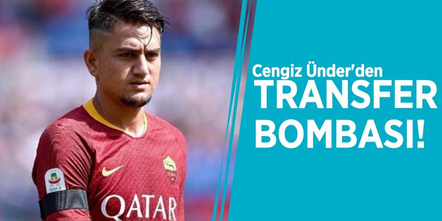 Cengiz Ünder'den transfer bombası!