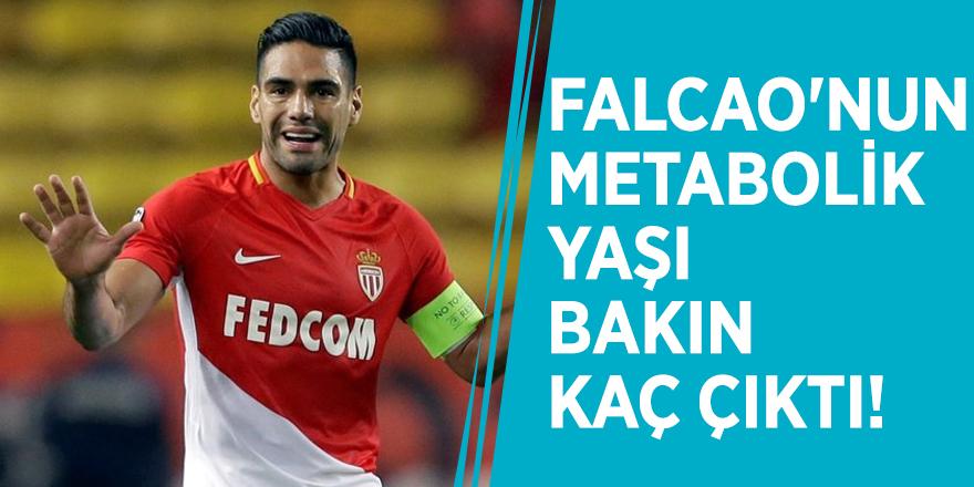 Falcao'nun metabolik yaşı bakın kaç çıktı!