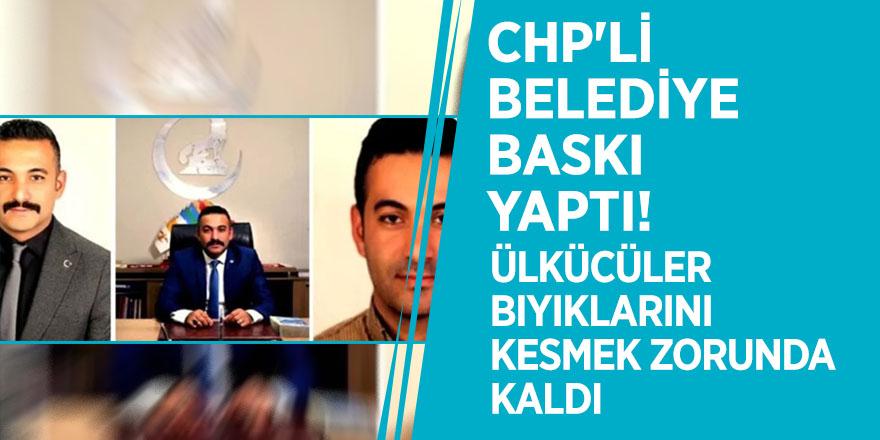 CHP'li belediye baskı yaptı! Ülkücüler bıyıklarını kesmek zorunda kaldı
