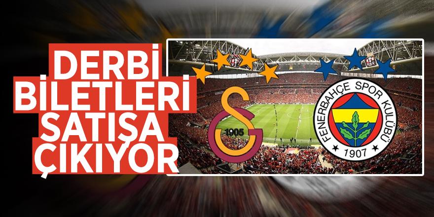 Galatasaray-Fenerbahçe derbisinin biletleri satışa çıkıyor