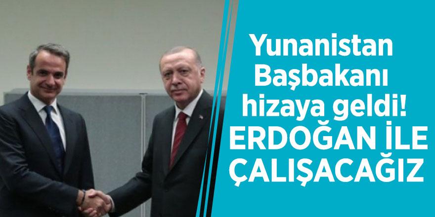 Yunanistan Başbakanı hizaya geldi! Erdoğan ile çalışacağız