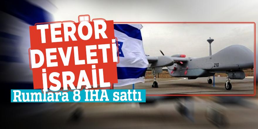 Terör devleti İsrail Rumlara 8 İHA sattı