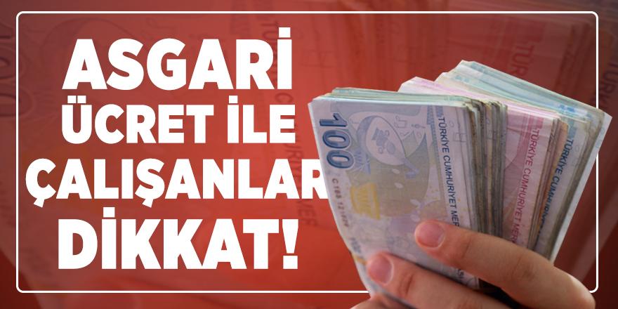 Asgari ücret ne kadar olacak? 2020 Asgari ücret görüşmeleri ne zaman başlayacak?