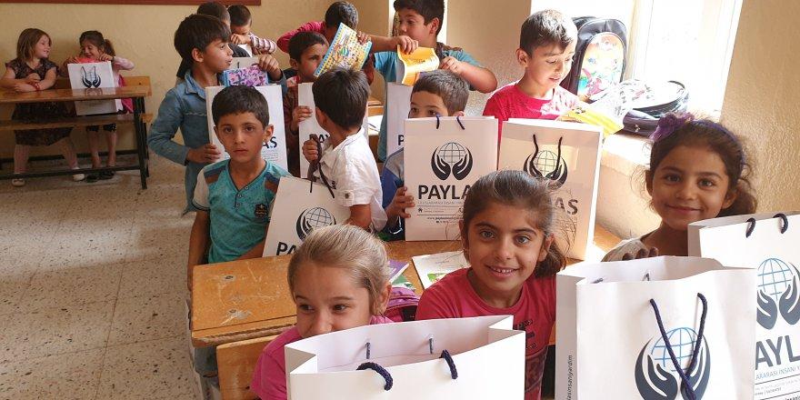 İnsanlık ve dayanışmayı köy okullarıyla PAYLAŞıyorlar!