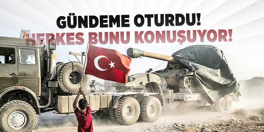 Barış Pınarı Harekatı sosyal medyada gündem oldu!