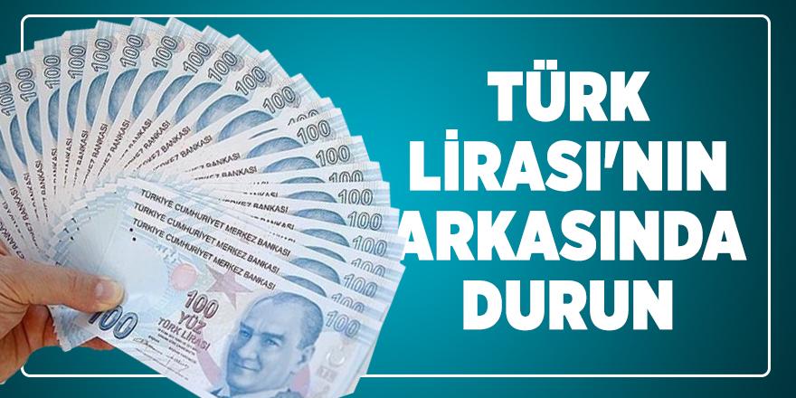 Bakan Varank: Türk Lirası'nın arkasında durun