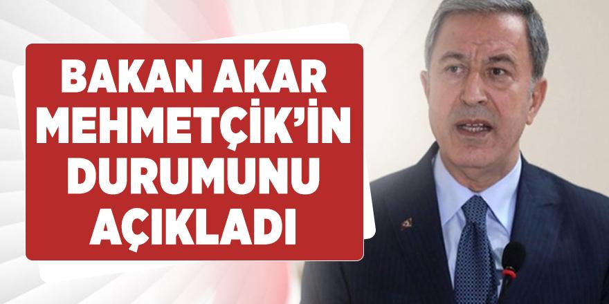 Bakan Akar'dan Suriye'deki Mehmetçik hakkında flaş açıklama!