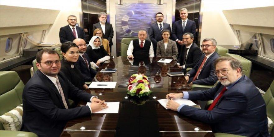 Erdoğan: Hedefimiz teröristlerin 32 km dışına çıkarılması