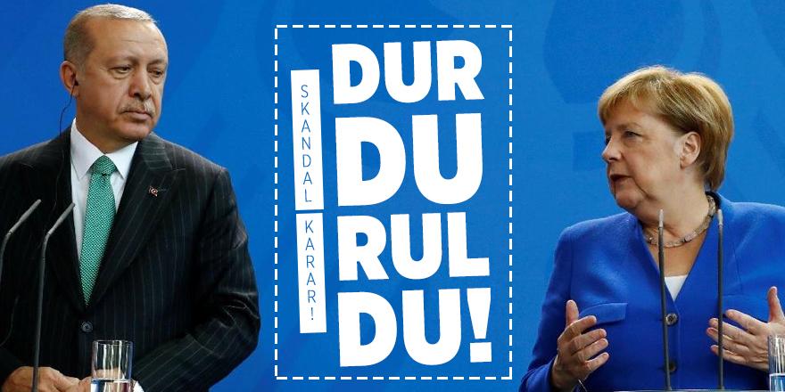 Almanya'dan skandal Türkiye kararı: Durduruldu!