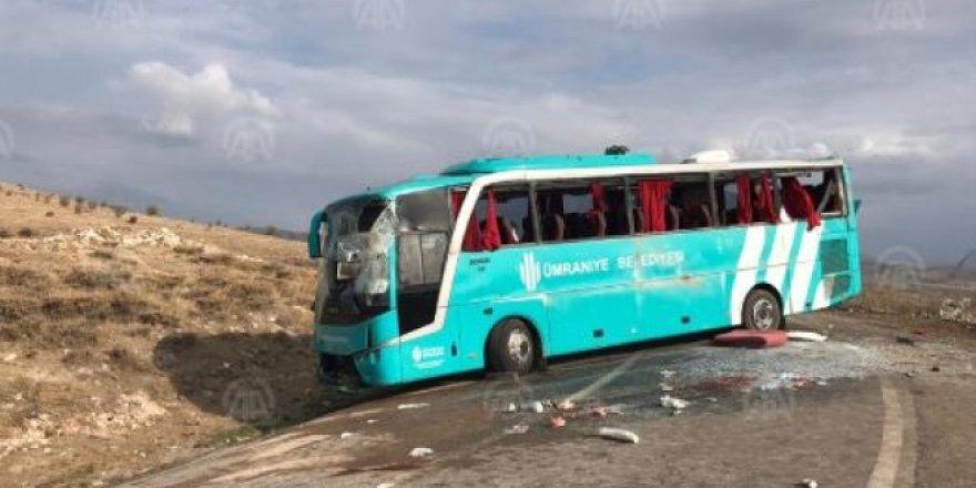 Çankırı'da feci kaza: 34 kişi yaralı!