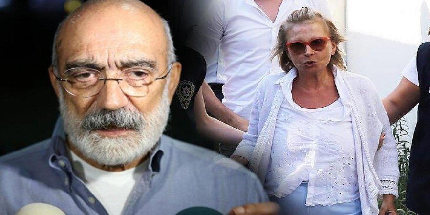 Nazlı Ilıcak ve Ahmet Altan tahliye edildi
