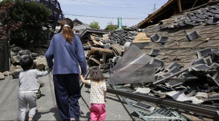 Japonya'da depremden ölenlerin sayısı 41'e yükseldi
