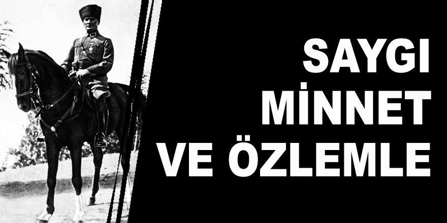 Türk Milleti, Gazi Mustafa Kemal Atatürk'i ölümünün 81'inci yılında saygı, minnet ve özlemle andı