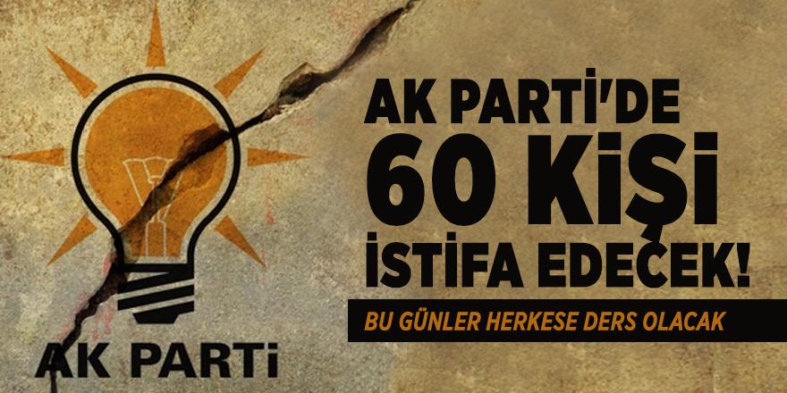 İstanbul'u bilen anketçiden şok açıklama: AK Parti'de 60 kişi istifa edecek!