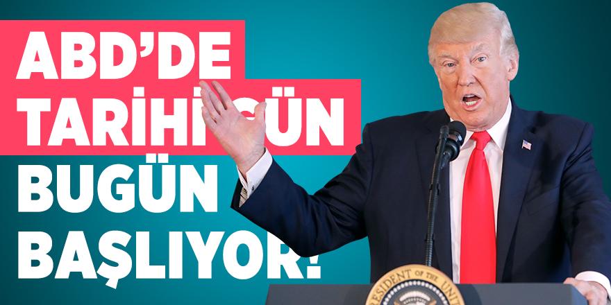 ABD'de Başkan Trump'ın azil sürecinde kritik gelişme! Bugün başlıyor