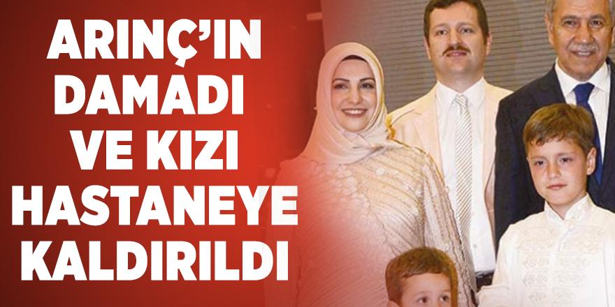 Cumhurbaşkanlığı YİK üyesi Bülent Arınç'ın  FETÖ üyeliğinden yargılanan damadı ve kızı trafik kazası geçirdi