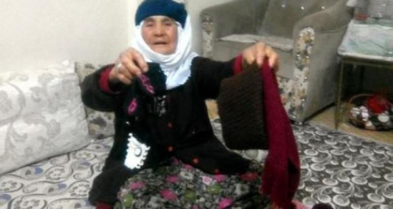 Maraşlı Fatma nineden Bayırbucak'a duygulandıran destek !