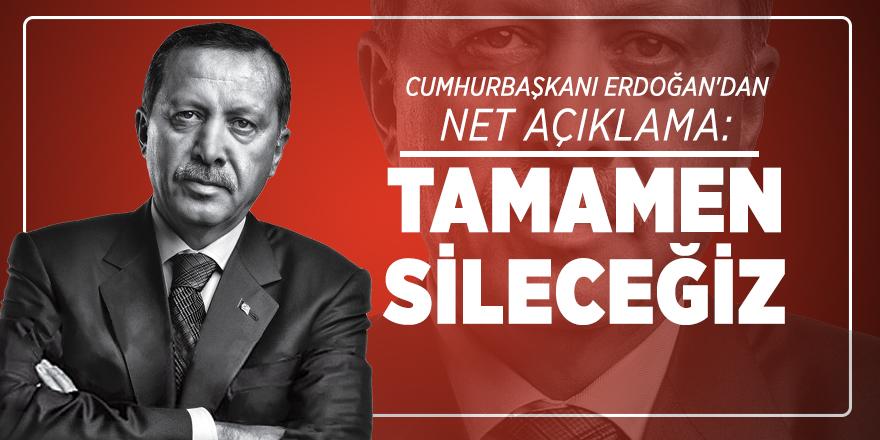 Kadına şiddet hakkında Cumhurbaşkanı Erdoğan'dan net açıklama: Tamamen sileceğiz