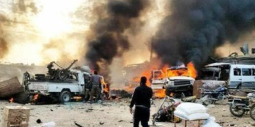 Suriye'de bombalı araçla saldırı düzenlediler: Çok sayıda ölü ve yaralı var!