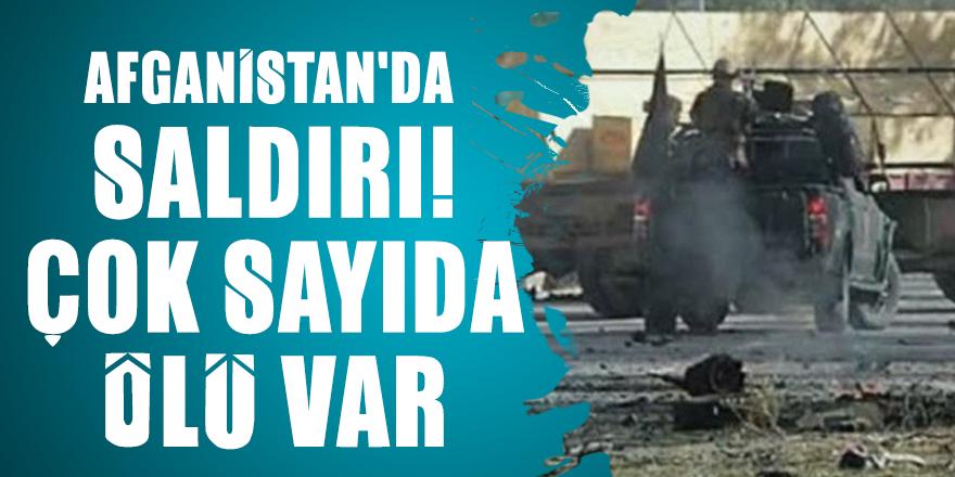Afganistan'da saldırı! Çok sayıda ölü var