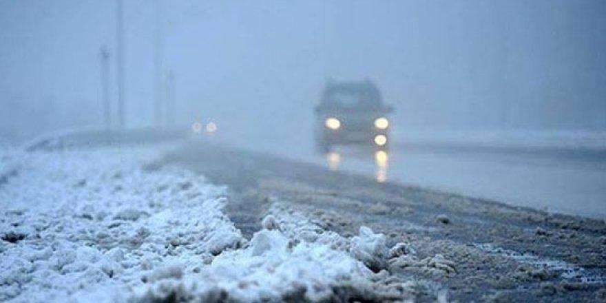Meteorolojiden yarın için buzlanma ve don uyarısı