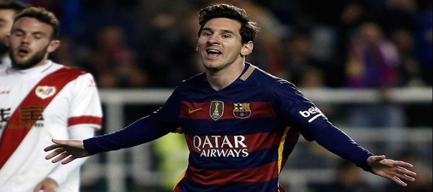 '500'ler kulübü'nün son üyesi Messi