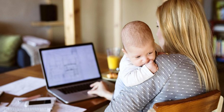 Doğum yapan anneye 7.500 TL destek